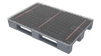 MH Pallets משטח 1000 reinforced מחוזק