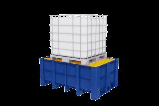 Spill Containment - IBC main  מאצרה ל-IBC סורג מגלוון