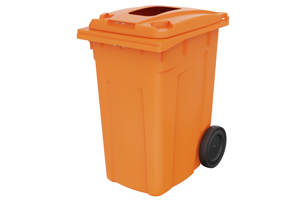 Waste Bins עגלות אשפה 360