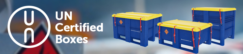 UN certified boxes  חומרים מסוכנים