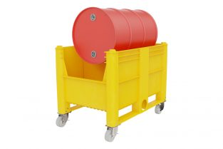 Spill Containment - horizontal מאצרה לחבית שוכבת